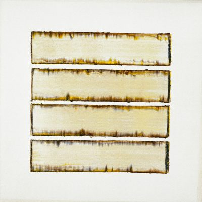 Acrylic paint on paper | light-yellow | Helena van Essen©