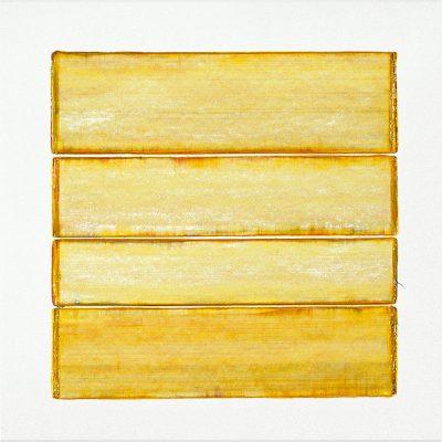 Acrylic paint on paper | yellow | Helena van Essen©