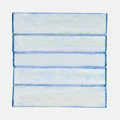 acrylic paint on paper | tens of transparant layers | light blue | no title | 52 x 52 cm | framed: € 750 | silence