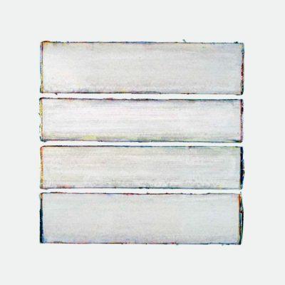 Acrylic paint on paper | border-colours | Helena van Essen©