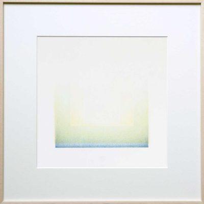 pencil-on-2-layer-paper | blue-green | Helena van Essen©