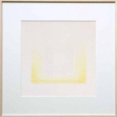pencil on 2 layer paper | yellow | Helena van Essen©