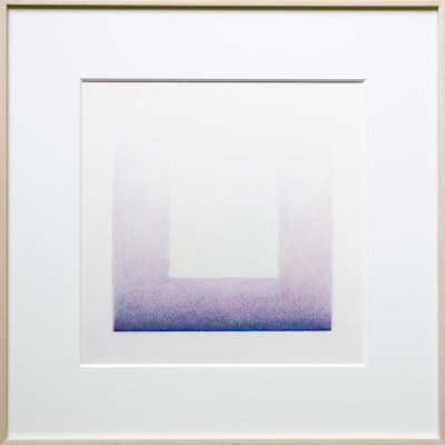 pencil on paper | blue-purple | Helena van Essen©