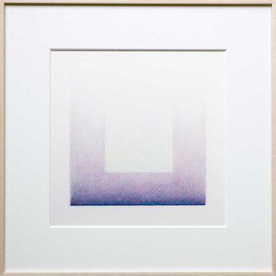 pencil on paper | blue-purple | Helena van Essen©