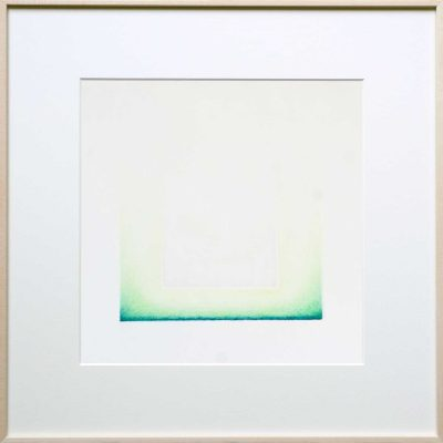 pencil on paper | green | Helena van Essen©