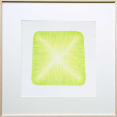 pencil on paper | green-yellow | Helena van Essen©