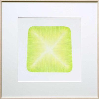 pencil on paper | green-yellow | Helena van Essen©