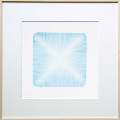 pencil on paper | light-blue | Helena van Essen©