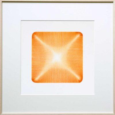 pencil on paper | orange | Helena van Essen©