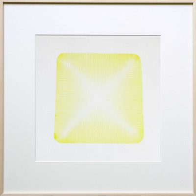 pencil on paper | yellow | Helena van Essen©