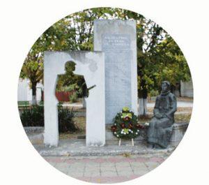 Monument to the fallen of Chernevo. WW I. Balkan wars. Bulgaria, Varna. Part Tower of Babel, Art installation © Helena van Essen