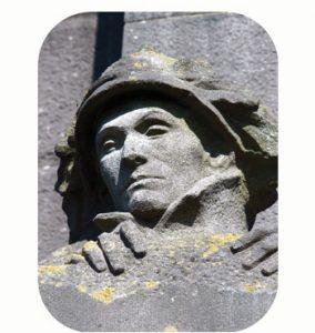 IJzergedenkteken. Gedenkt de slag vanwege Duitse opmars. wo-I. België, West-Vlaanderen, Nieuwpoort. Onderdeel Toren van Babel, Kunstinstallatie ©Helena van Essen