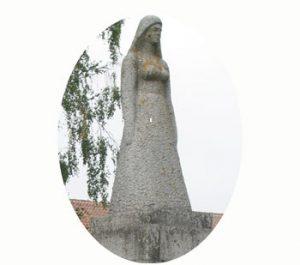 Monument voor de onafhankelijkheid van Estland, Rõngu. 1921, 1991. Onderdeel Toren van Babel, Kunstinstallatie ©Helena van Essen