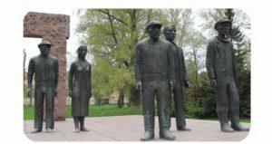 Monument voor de rode gevangenen van de burgeroorlog van 1918, Finland-Lahti. Onderdeel Toren van Babel, Kunstinstallatie ©Helena van Essen