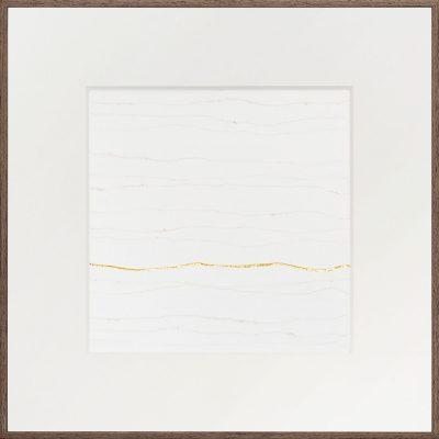 pure gold (24k) op washi   Helena van Essen© 2019