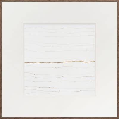 zuiver goud (24k) op washi - 327 | Helena van Essen© 2019